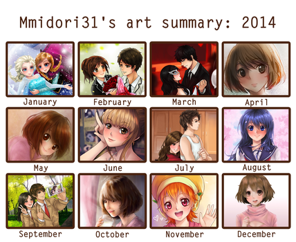 Art summary 2014 by mmidori31