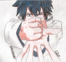 Gray Fullbuster - Fairy Tail - Colured by kitty-moonlight
