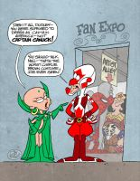 DUDLEY DO-RIGHT DOES FAN EXPO by JayFosgitt