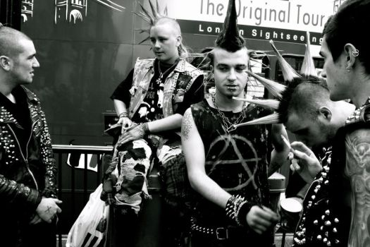 punk rockers 4 by FuatYILDIZ
