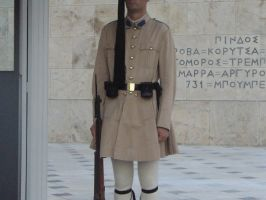 Honor Guard, Athens, Greece by Garr1971