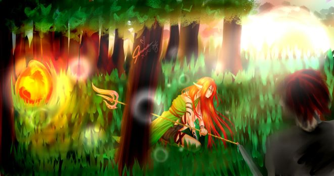 The Forest's Guardian Flame by Twilly-Chan1034
