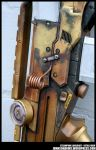Steampunk Heavy Rifle Detail Photo by JohnsonArms