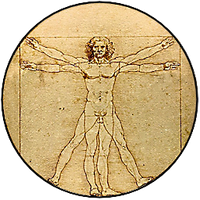 New Vitruvian Man Dock Icon by cmnixon
