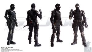 Resolute style Snake Eyes by G2ORC