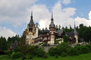 Peles Castle by Aloba