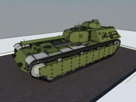 KV-4 M front by Giganaut