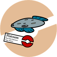 Fake Pokemon: Flatsam 2.0 by Sageroot
