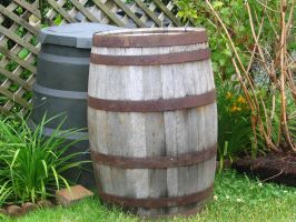 Wooden barrel 1 by Regenstock