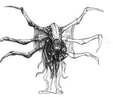 Monster concept art 2 by SolidAlexei