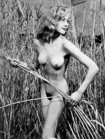 Beautiful Outdoor Nude 2, 1950's by NJDVINTAGE