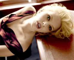 Scarlett Johansson Coloration2 by CallyKhS