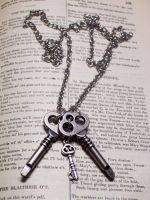 Key Chain Necklace by LeviathanSteamworks