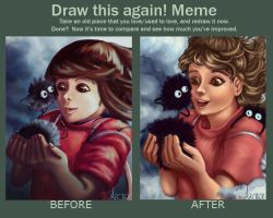 Draw This Again Meme! by Xite91