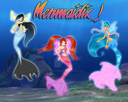 Mermaidix! by EnchantingUnixFairy