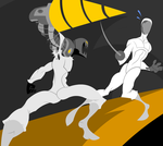 DU Sports: Fencing by B0XAB0T