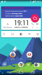 Android L Material Design Clock and Weather Widget by shorty91