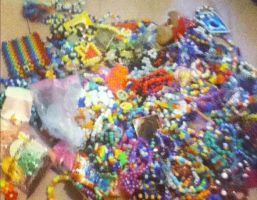 all my kandi from trades by ninjalove134