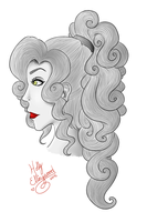 Red Lips by Horu-chan