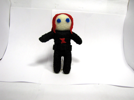 Black Widow Plush by Ginger-Storm