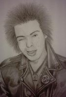 Sid Vicious - Sketch by mikegee777