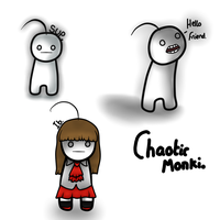 ChaoticMonki. by Ask-Lavi-Lion