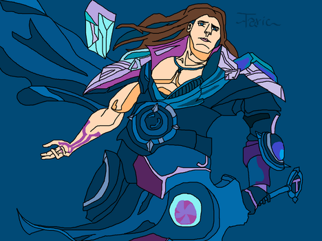 MS Paint Taric: Reworked by StarFoxCaptainFalcon