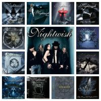 Nightwish's discography with Anette Olzon by CrazyEvilGirlie