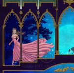 Cendrillon Detail of Cinderella by EdselArnold