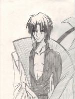 2008 Aoshi Shinomori by DarkCloudXERO