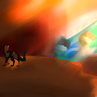 Exploring the Canyon by AgenderedKing