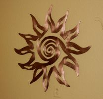 copper sun by RandyHand