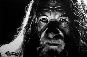Gandalf by AllenP