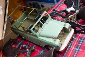 Land Rover Toy by bhorwat