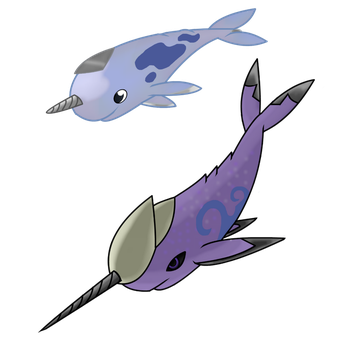 Fakemon Steel/Water by DraconianQueen