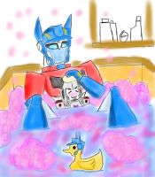 Bathtime 'lil Meggy by PurrV