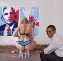 Obama Change Is Good by ctomuta