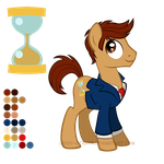 Reference Sheet: Tenth...ish Doctor by LissyStrata