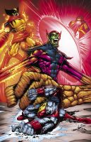You got Skrull'd by ColorDojo