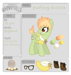 wv app: pushing daisies by ivyhaze
