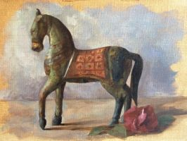 Wooden Horse by Teffy