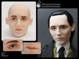 Whispering Grass Thomas makeup by scargeear