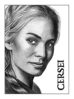 Cersei ATC by NicksPencil