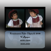 RenFaire2008 Diptych Wallpaper by frotton