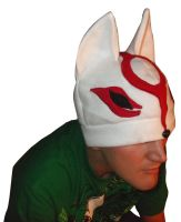 Okami Amaterasu Fleece Hat by tentenswift