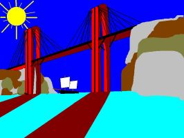 San Fran Bridge by Soloboy5
