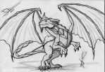 Dragon by Frosto-BR