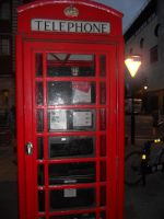 London Telephone Booth by Lafire