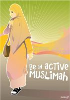 An Active Muslimah by setobuje