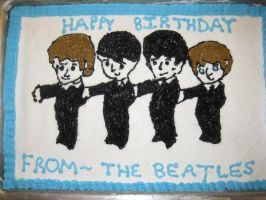Beatles Cake by jesspotter